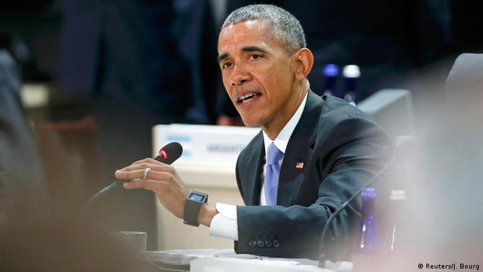Washington Nuklear-Gipfel Plenarsitzung Barack Obama