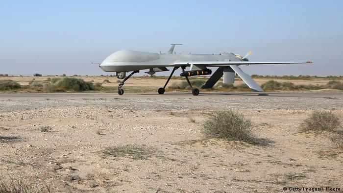 A US airforce predator drone