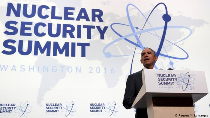 Obama speaks at Nuclear Security Summit