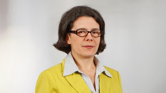 Vilma Filjaj-Balvora, urednica redakcije DW na albanskom