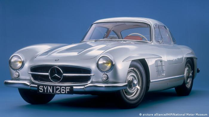 Mercedes Benz 300SL Gullwing, Copyright: picture-alliance / HIP / National Motor Museum