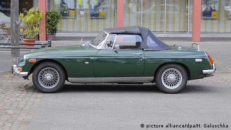 MG MGB Roadster, Copyright: picture alliance / dpa/ H. Galuschka