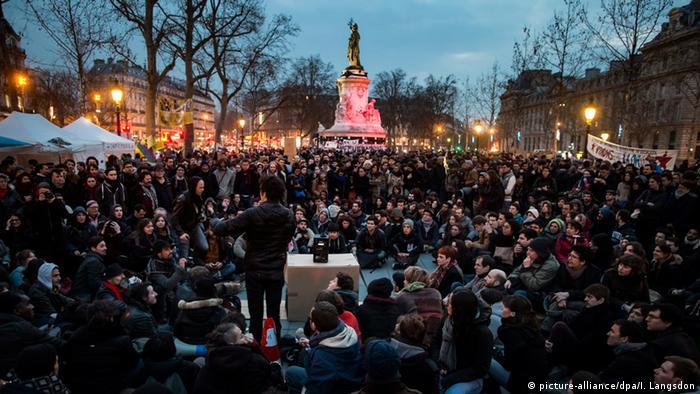 Frankreich Protest gegen Arbeitsreformgesetz in Paris