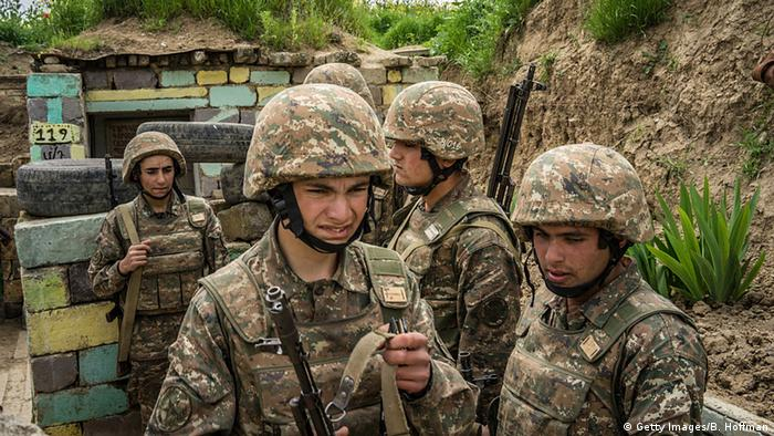 Ukraine Aserbaidschanische Truppen