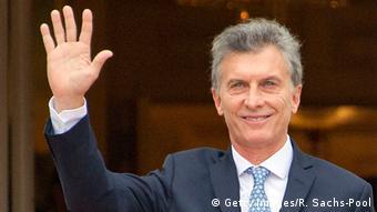 Arjantin Devlet Başkanı Mauricio Macri.
