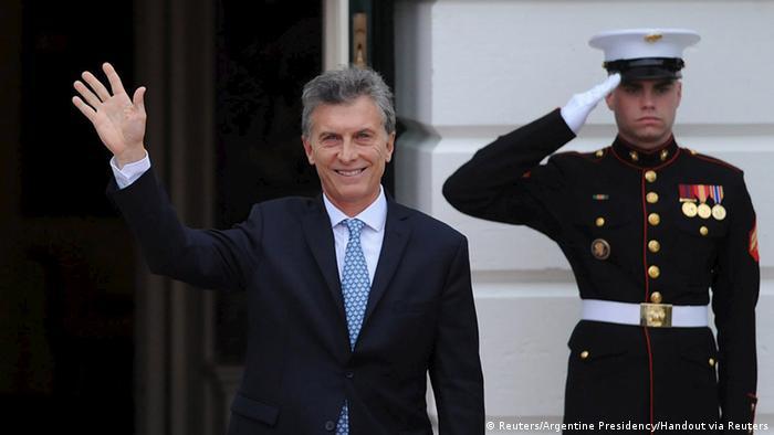 Mauricio Macri Präsident Argentinien beim Nuklear-Gipfel in Washington