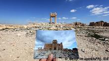 Palmyra vor und nach ISIS