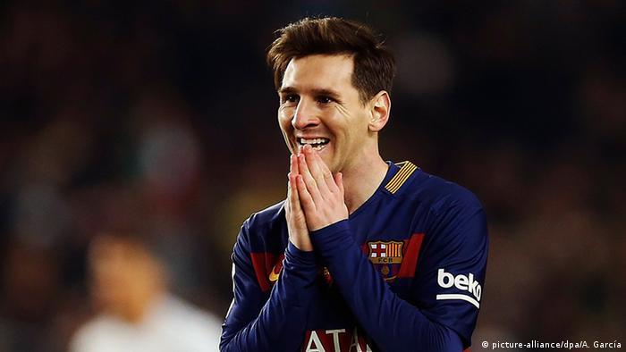 Fußballer des Real Madrid Leo Messi. (EFE/Alejandro García)
