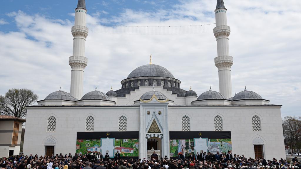 Turkish president unveils US Islamic center near Washington DC