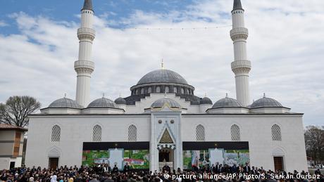 USA Erdogan weiht moschee ein (picture alliance/AP Photo/S. Serkan Gurbuz)