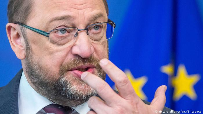 Presidente do Parlamento Europeu, Martin Schulz