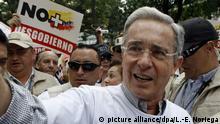Kolumbien Alvaro Uribe Velez