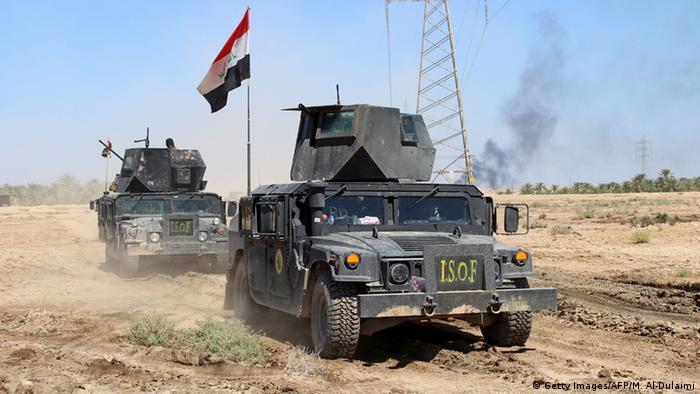 Irak Militär Operation gegen IS (Getty Images/AFP/M. Al-Dulaimi)