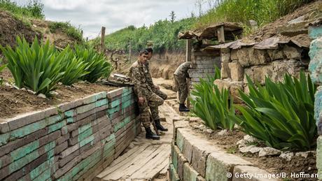 Soldados de etnia armenia.