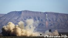 US-Unternehmen Blue Origin gelang dritter Raketentest