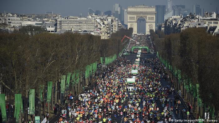 #ParisMarathon