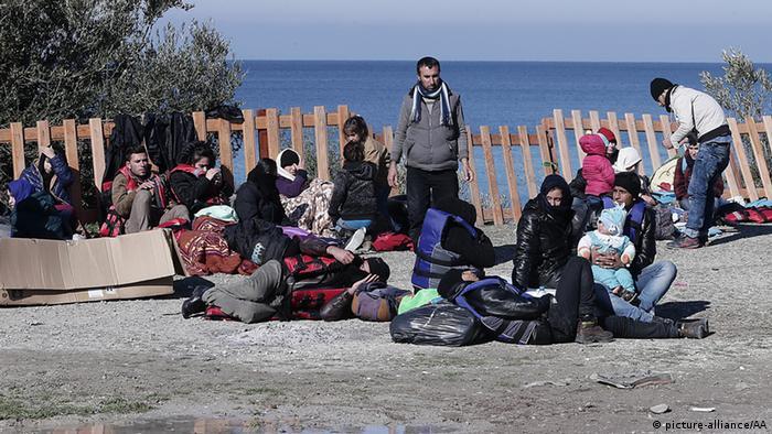 Izbjeglice na otvorenom