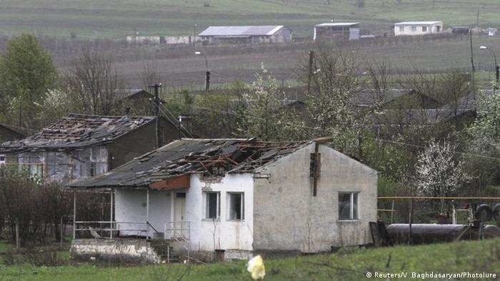 Разрушения в Нагорном Карабахе