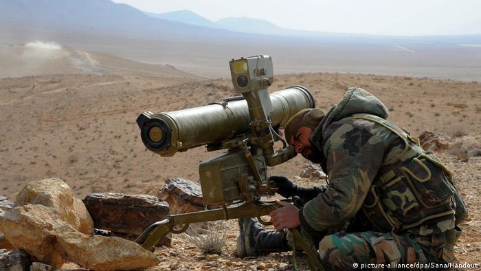 Armee dringt in syrische Stadt Al-Karjatain ein