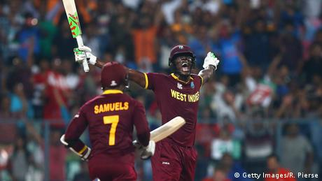 Indien Cricket Finale Herren England gegen West Indies ICC World Twenty20 (Getty Images/R. Pierse)