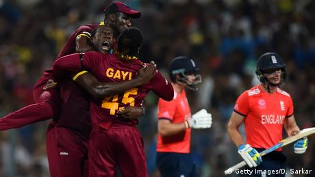 Indien Cricket Finale Herren England gegen West Indies ICC World Twenty20