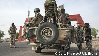 Nigerian military in Damboa, Borno State (Getty Images/AFP/S. Heunis)