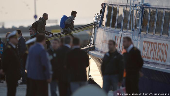 Griechenland Flüchtlinge auf Lesbos