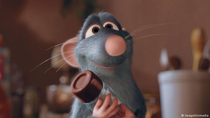 Der Film Ratatouille soll mit dem Schmuddel-Image der Ratte aufräumen