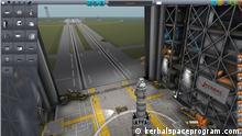 Screenshot Spiel Kerbal Space Program , Flugsimulation um das Raumfahrtprogramm des Planeten Kerbal Copyright: kerbalspaceprogram.com