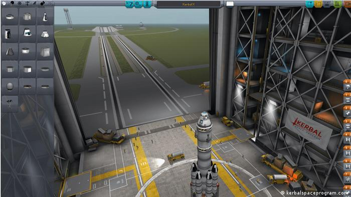 Screenshot Spiel Kerbal Space Program