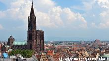 Frankreich Strasbourg Stadtansicht Münster