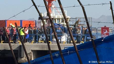 Griechenland Rückführung von Flüchtlingen in die Türkei