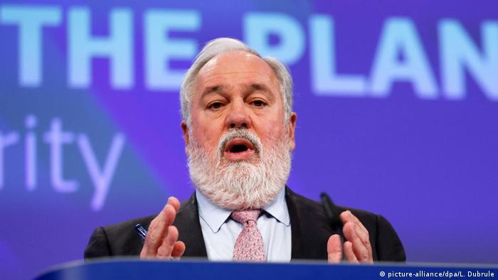 Miguel Arias Canete EU Kommissar