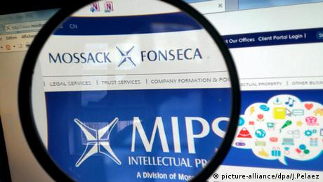 Panama Papers Mossack Fonseca Webseite