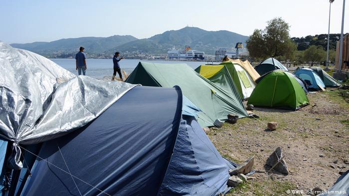 Griechenland Lebos Migranten aus Pakistan Rückführung Türkei
