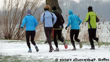 Joggen in Deutschland (picture alliance/dpa/P. Steffen)