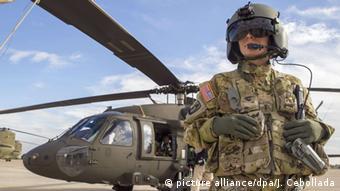 U.S. Army Sikorsky UH-60 Black Hawk Hubschrauber