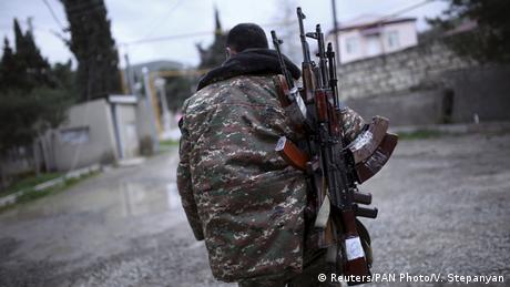 Combatiente armenio.
