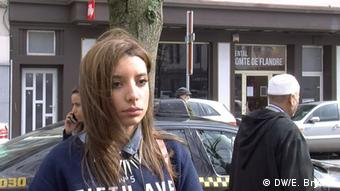 Belgien Nafisa Mezian in Brüssel