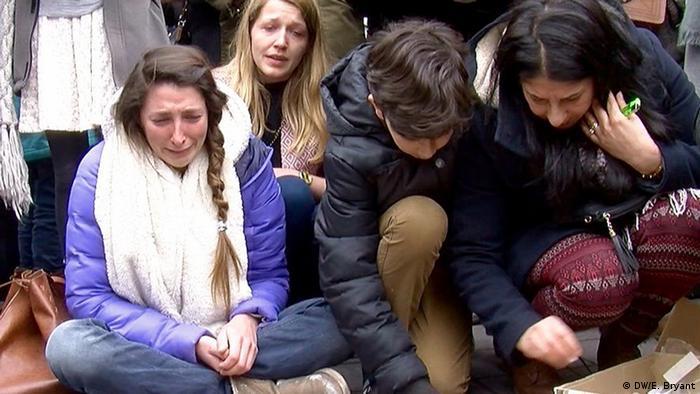 Belgien Schweigeminute nach den Anschlägen in Brüssel