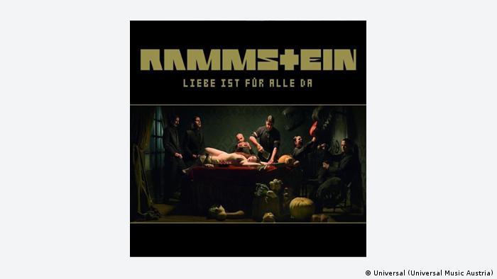 Cover of Rammstein album: Liebe Ist für Alle Da, Copyright: Universal Music Austria