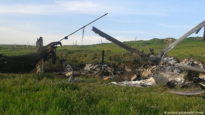 Aserbaidschan Bergkarabach Konflikt Hubschrauberabsturz