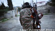 Aserbaidschan Bergkarabach Konflikt armenischer Kämpfer