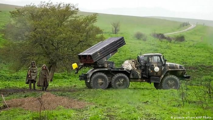 Вірменські солдати в Мардакерті