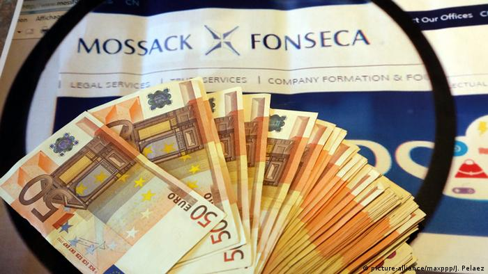 Symbolbild Panama Papers (Foto: picture-alliance/maxppp/J. Pelaez)