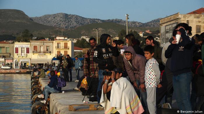 Griechenland Deportation von Flüchtlingen auf Chios