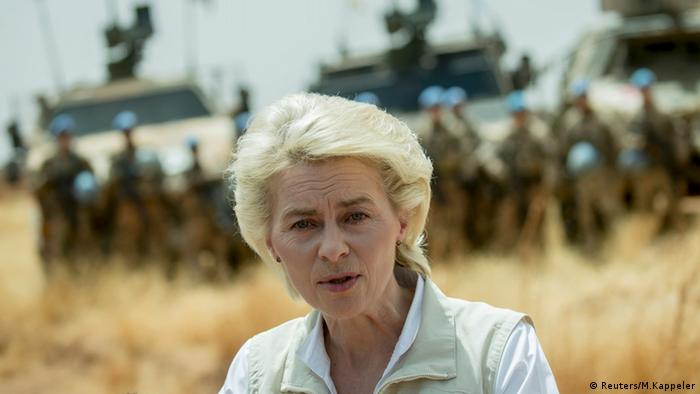 Ursula von der Leyen, şefa Apărării în guvernul de la Berlin