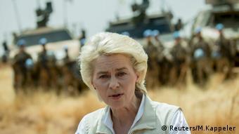 Mali Deutschland Ursula von der Leyen besucht Bundeswehr Soldaten in Gao