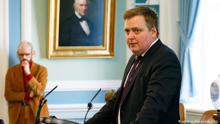 Sigmundur David Gunnlaugsson Island Premierminister