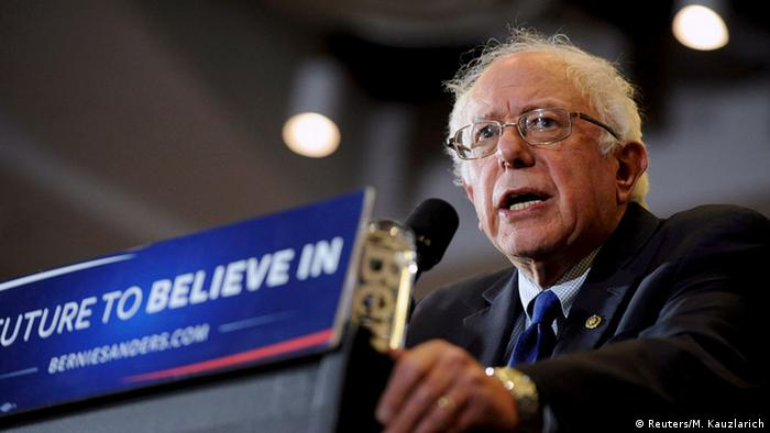 Wisconsin Milwaukee Bernie Sanders Vorwahlen